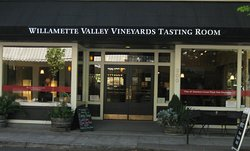Willamette Valley Vineyards Tasting Room in McMinnville