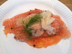 salmon natural marinado