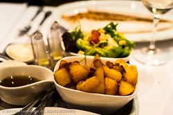 Oesterbar, Leidseplein, Amsterdam, NL - side dishes potatoes and salad
