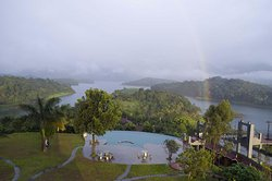 Awesome feeling to capture a rainbow, but need to get up early morning.....loved it