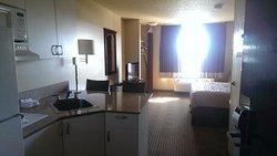 Quite spacious room