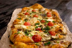 Fire oven pizza!