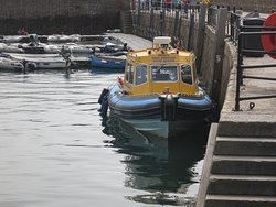 power boat in St. Mary's habour
