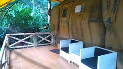 Do you want to stay in the caravan in the jungle?