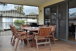 Cabin verandah