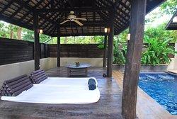 Organic retreat resort