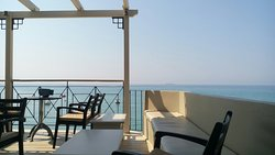 Very relaxing View at Seven Café Bar.