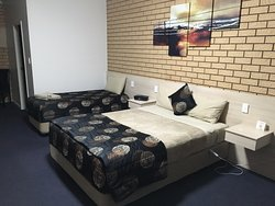 Nice comfortable large bed