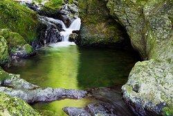 Hyakken-daki Waterfall