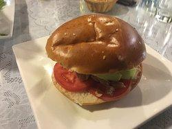 Sandwich vegetariana (9 soles)