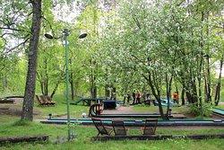 Sibeliuspuiston Minigolf