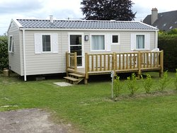 Mobil Home Camping le Rivage Quettehou Manche Normandie