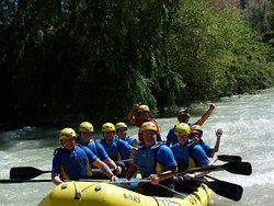 Rafting en Córdoba