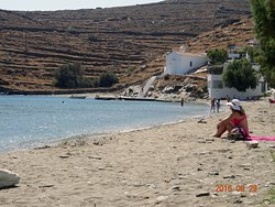Lefkes Beach
