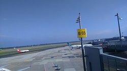Visitor's Terraces Dusseldorf Airport