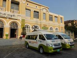 Cambodia Post VIP Van