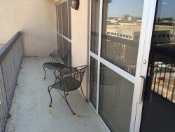 Double wide balcony