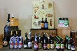 La gamma di birra da Berti