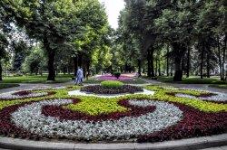 Taynitsky Garden of Moscow Kremlin