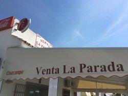 Venta La Parada, Alcalá de los Gazules. Para desayunar y comer, abren a las 5.30 de la mañana, t