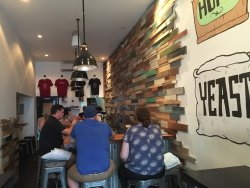 Excellent craft beer and good bar food