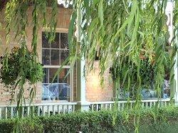 The beautiful verandah!