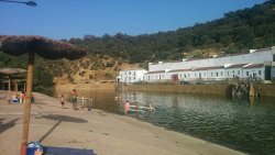 Genial playa fluvial