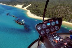 Tangalooma Helicopter Service