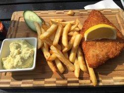 Fish and Chips Måns Byckare Simrishamn