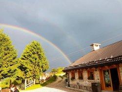 arcobaleno a Malga Roccolo