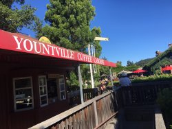 Yountville Coffee Caboose