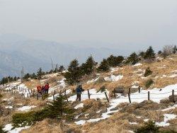 Cheonwangbong Peak of Jirisan National Park