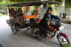 Tuk Tuk Lady in Siem Reap