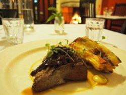 Glenlea Farm' Crookwell NSW, grass fed beef with caramelised endive tarte tatin