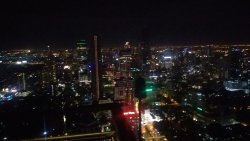 One of famous rooftops in Bangkok