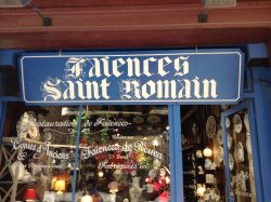 Faiences Saint-romain