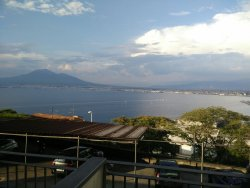 Good family run hotel as a base for lots of trips by car to Pompeii, Amalfi etc.