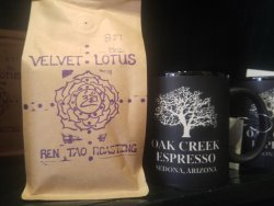 Fresh Beans and new logo mugs