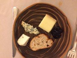 fromages (servi sur un plateau)