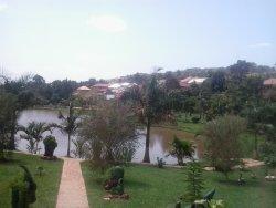 Perfect gate away from Kampala