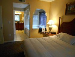 Bedroom Jacuzzi and on-suite