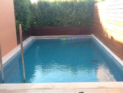 My private pool privacy but not view
