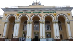 Kazakh Agricultural Institute Building
