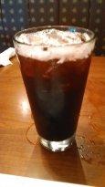 Blackberry iced tea.