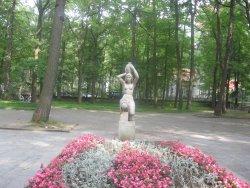 Sculpture Wasserträgerin