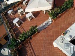 Hotel Nuvò Buffet in terrazza
