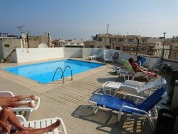 Great location,  poor view, good base for exploring Malta