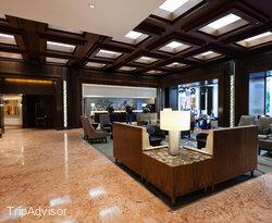 Lobby at the JW Marriott Hotel Mexico City