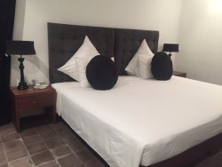 Good value for money but rooms lack charme