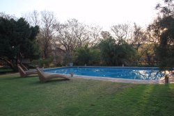 large pool so you can do lengths